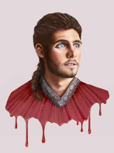 Глэзи Аспин, революционер, фэнтези, в фэнтези, фентези, низкое фэнтези, фэнтази, без магии, low fantazy, Чёрный носорог, книга, роман, читать, о лучших друзьях, красивый мужчина, средневековье