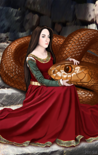 женщина и змея, со змеёй, змеей, змей, огромная змея, тайпан, громадный, самая ядовитая змея в мире, принцесса и змей, королева змей, змеиная королева, крэй, тайпан и девушка, красивая девушка, независимая женщина, феминистка, феминизм, рижель гроффолкс, девушка спит со змеёй, любовник змей, девушка в средневековом платье, наряд средневековый, молодая женщина с чудовищем, красавица и чудовище, монстр, добрый змей, питомец, очень большой, воздействие радиации на животных, женское счастье, мечта, любит змея